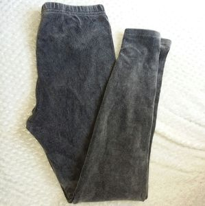 Women's gray leggings nwot size medium